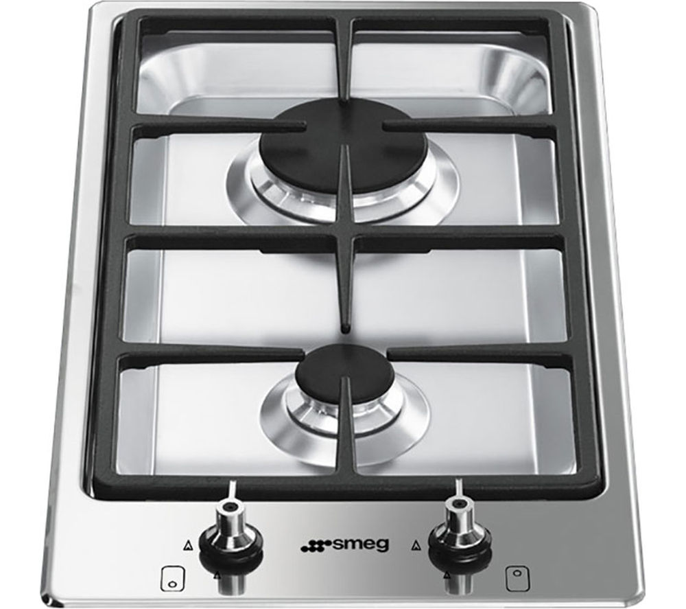 Buy SMEG Classic PGF32G Domino Gas Hob Stainless Steel