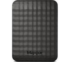 MAXTOR M3 Portable Hard Drive - 1 TB, Black