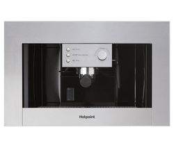 HOTPOINT CM 5038 IX H Built-in Bean to Cup Coffee Machine - Stainless Steel