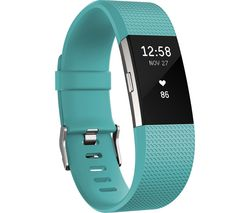 FITBIT Charge 2 Classic Accessory Band - Teal, Large