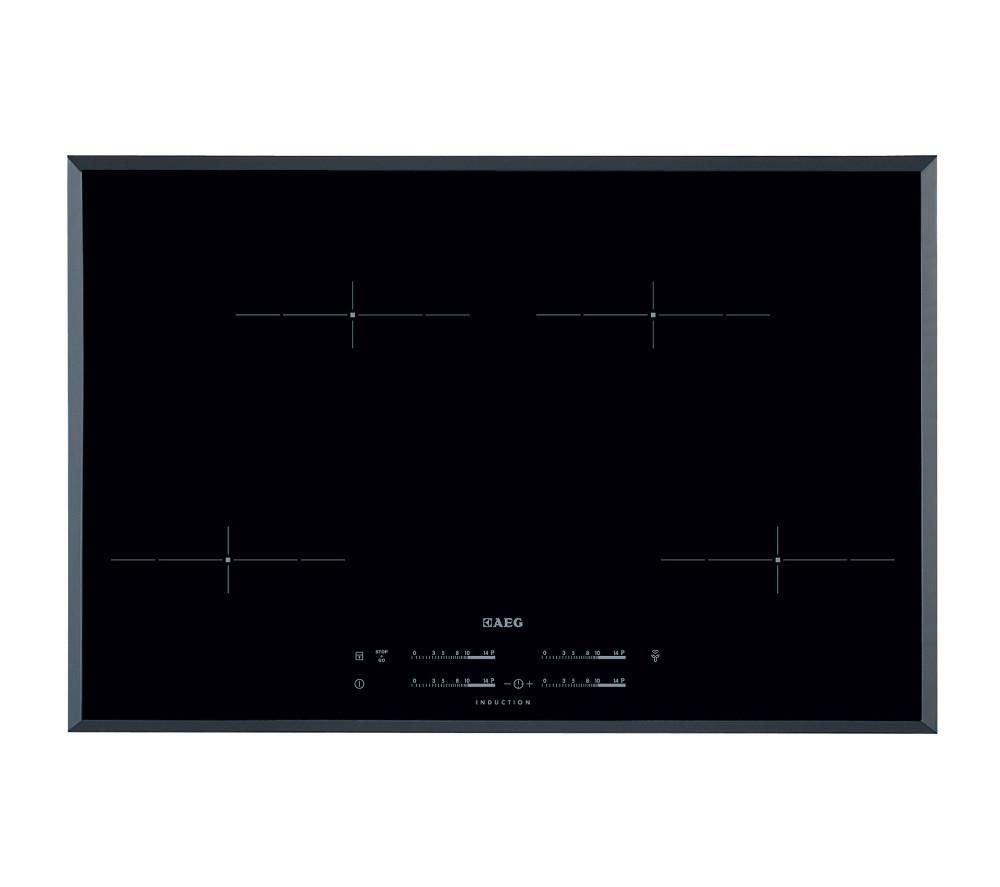 AEG  HK854401FB Electric Induction Hob  Black Black