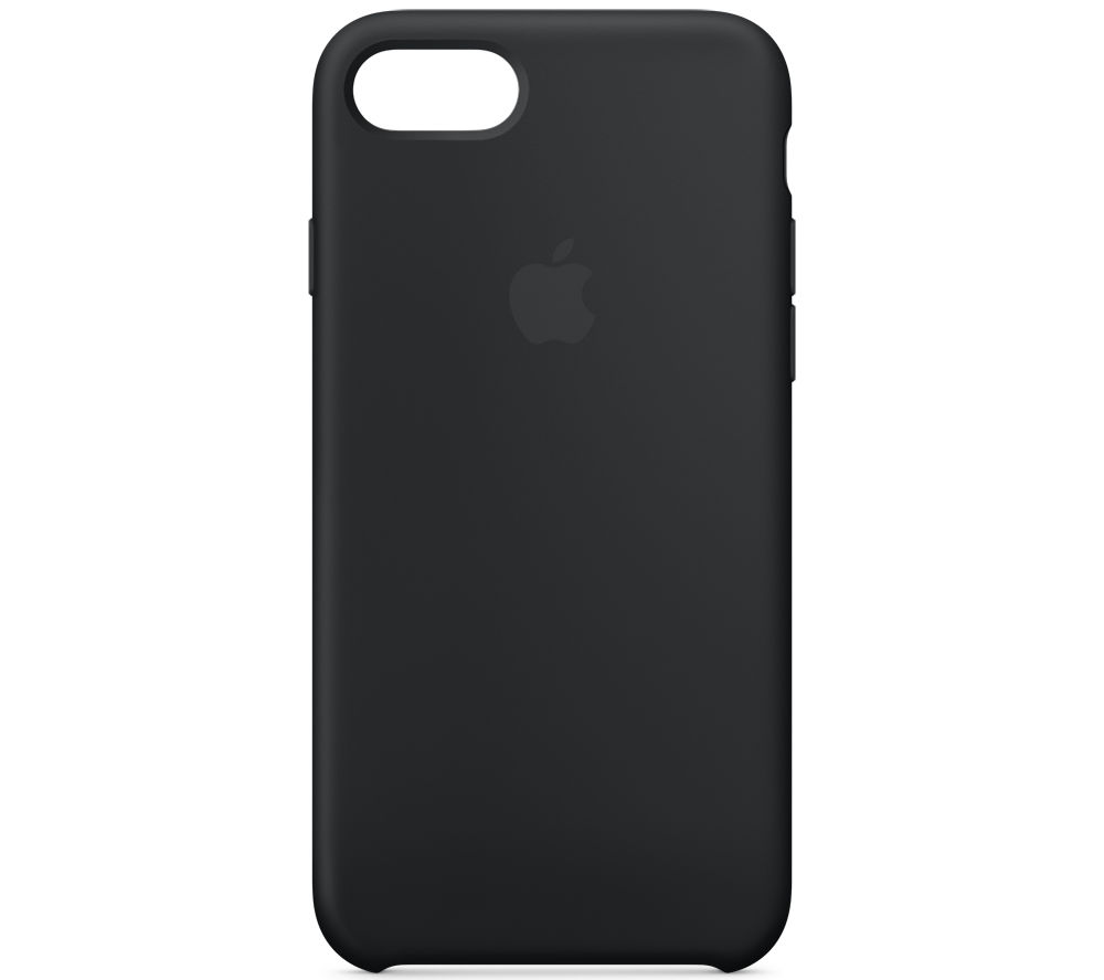 APPLE Silicone iPhone 7 Case - Black