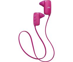 JVC HA-F250BT-PE Wireless Bluetooth Headphones - Pink