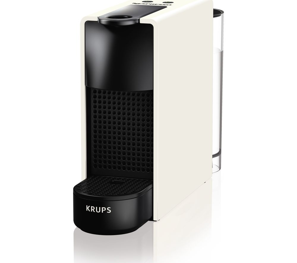 NESPRESSO by Krups Essenza Mini XN110140 Coffee Machine  White White