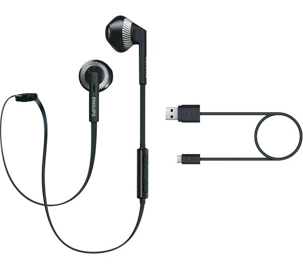 philips shb525owt wireless bluetooth headphones black deals pc world. Black Bedroom Furniture Sets. Home Design Ideas