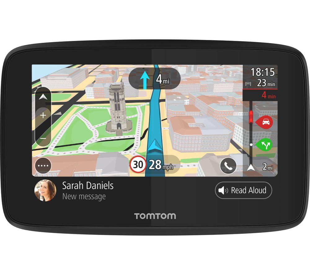 "TOMTOM GO 520 5"" Sat Nav with Worldwide Maps & Case"