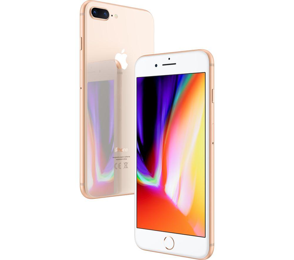 APPLE iPhone 8 Plus - 64 GB, Gold