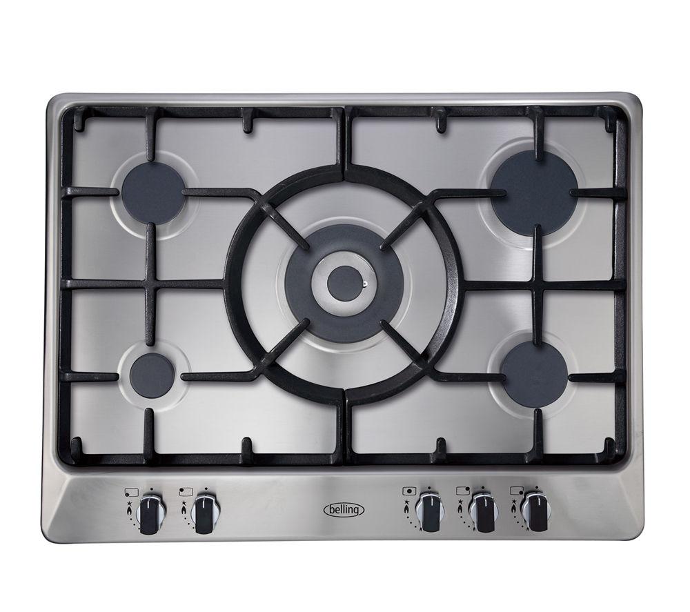 Kitchen Outlet Hob ~ Buy belling ghu tgc lpg hob stainless steel free