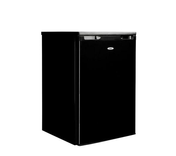 Black under counter freezers