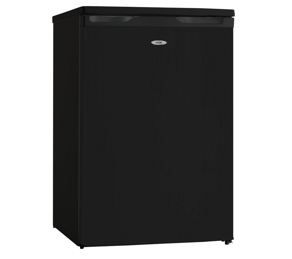 LOGIK LUF55B13 Undercounter Freezer - Black