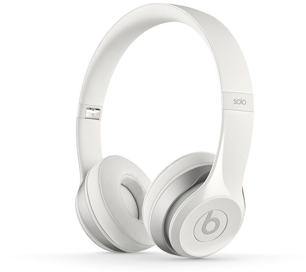 BEATS BY DR DRE Solo 2 Headphones - White