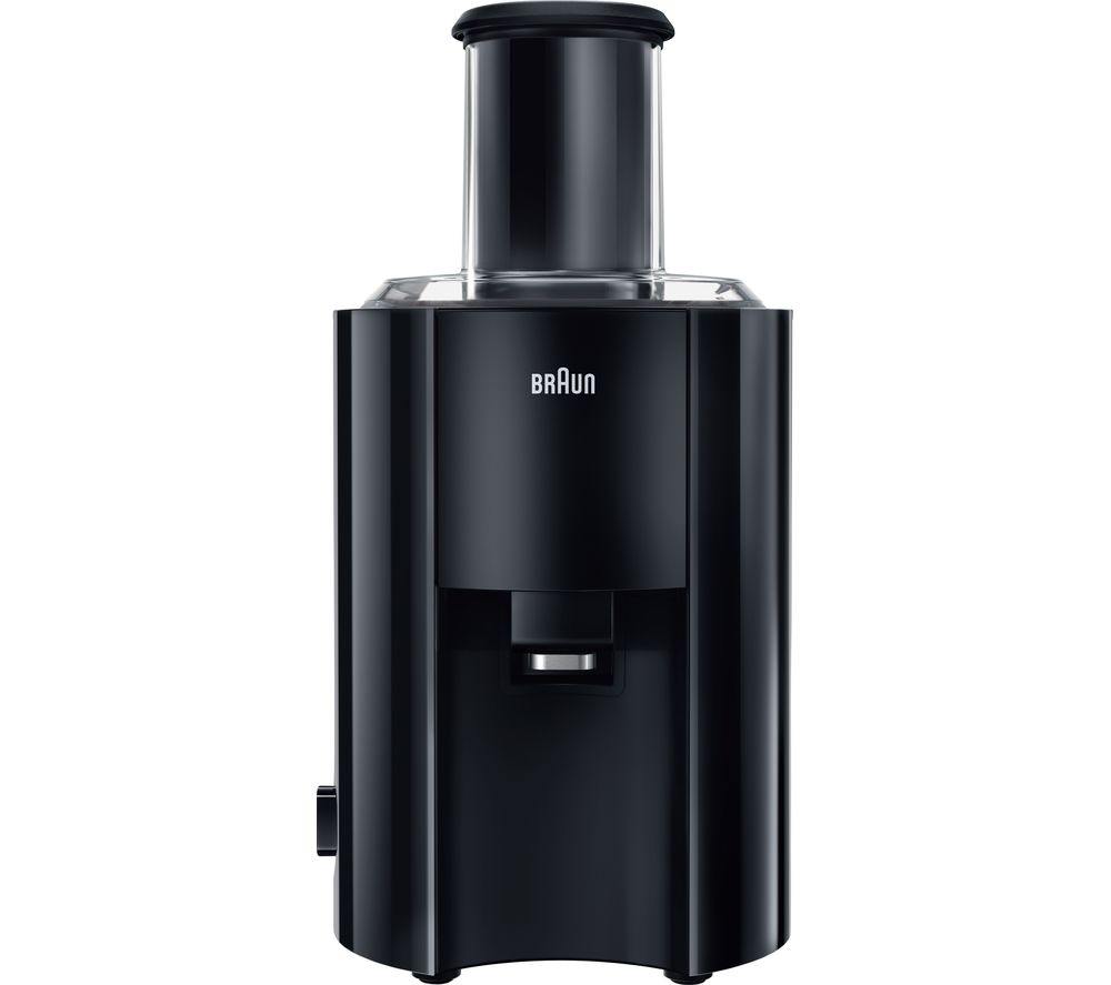 Image of BRAUN J300 Multiquick Juicer - Black, Braun