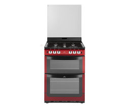 NEW WORLD 601GDOL Gas Cooker - Metallic Red