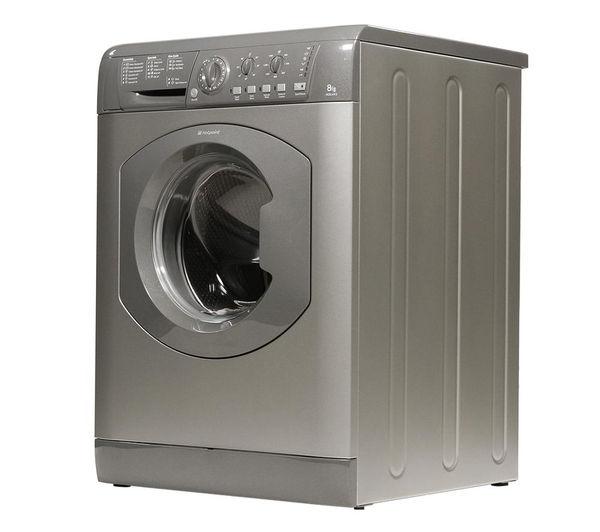 Buy HOTPOINT HE8L493G Washing Machine - Graphite | Free ...