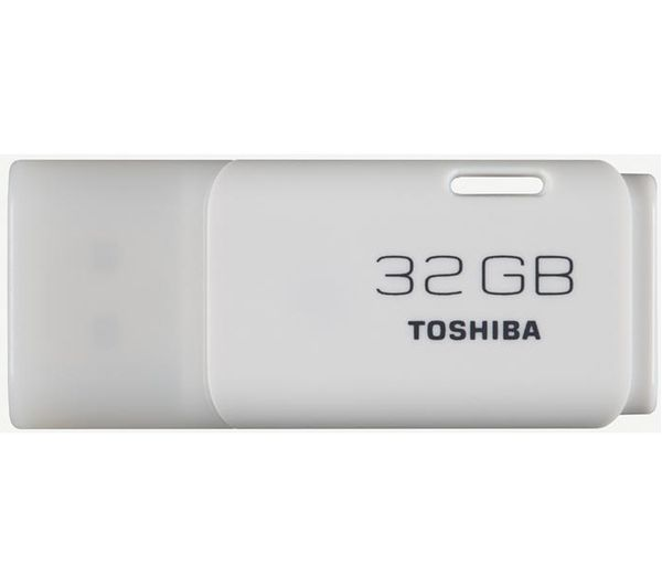 Toshiba 32 GB TransMemory USB 2.0 Memory Stick  White White