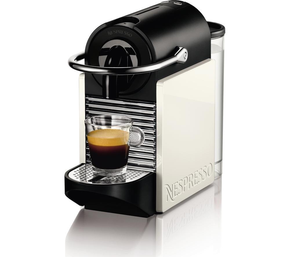 Magimix 11370 Nespresso Pixie Clips Coffee Machine White