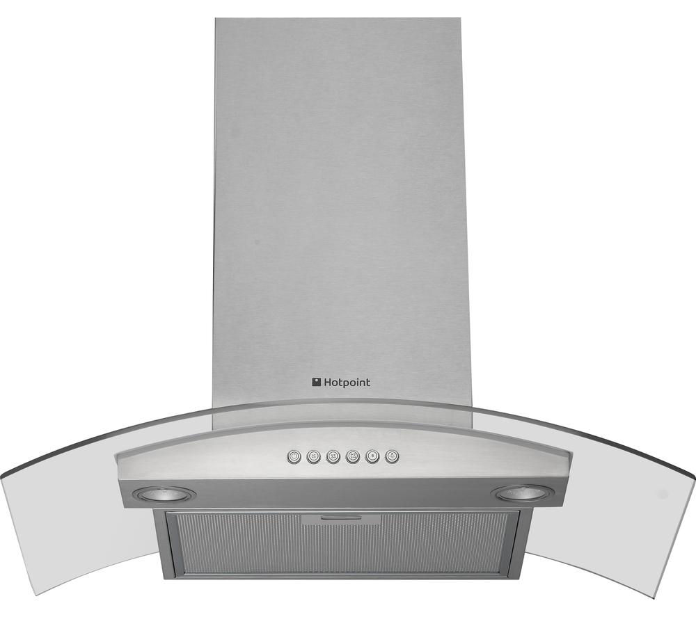 hotpoint hda75sab cooker hood compare prices at foundem. Black Bedroom Furniture Sets. Home Design Ideas