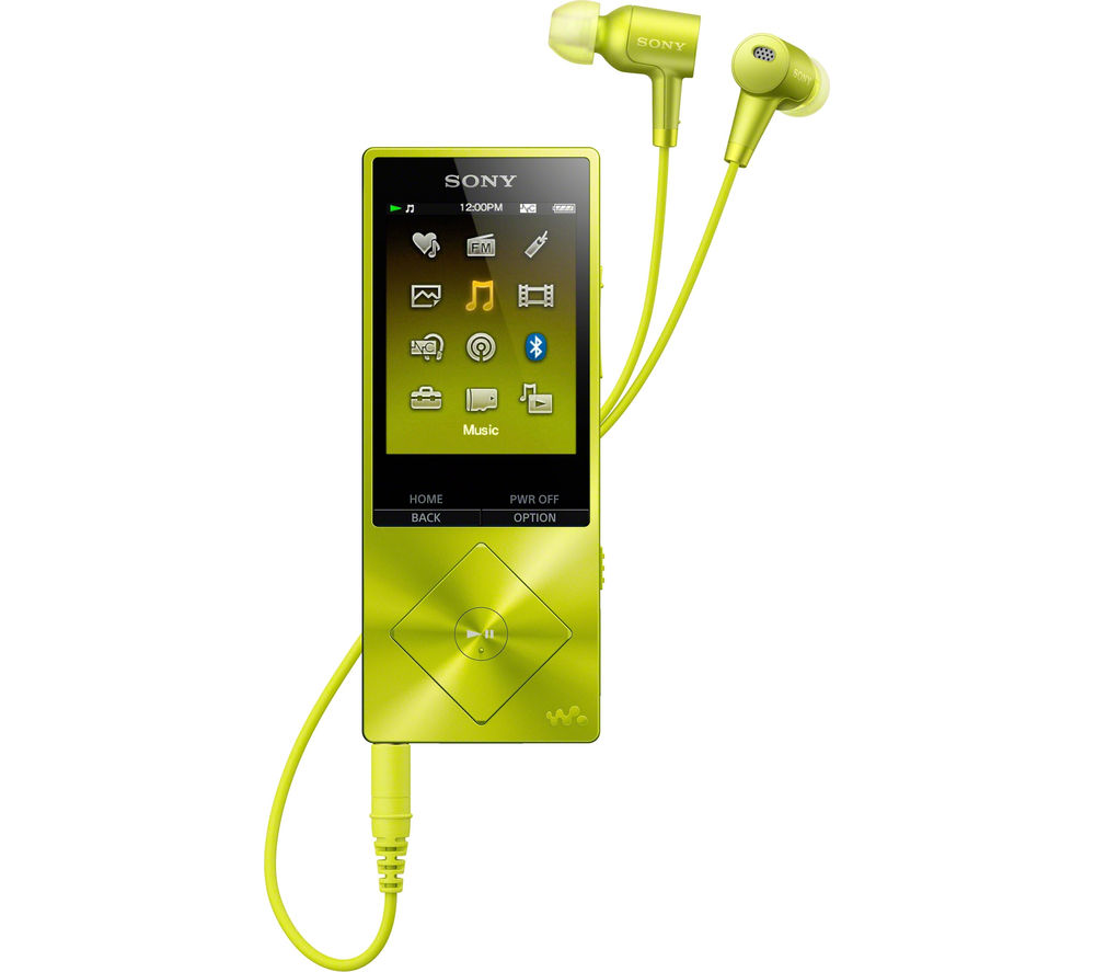 buy sony walkman nw a25hny 16 gb mp3 player with fm radio. Black Bedroom Furniture Sets. Home Design Ideas