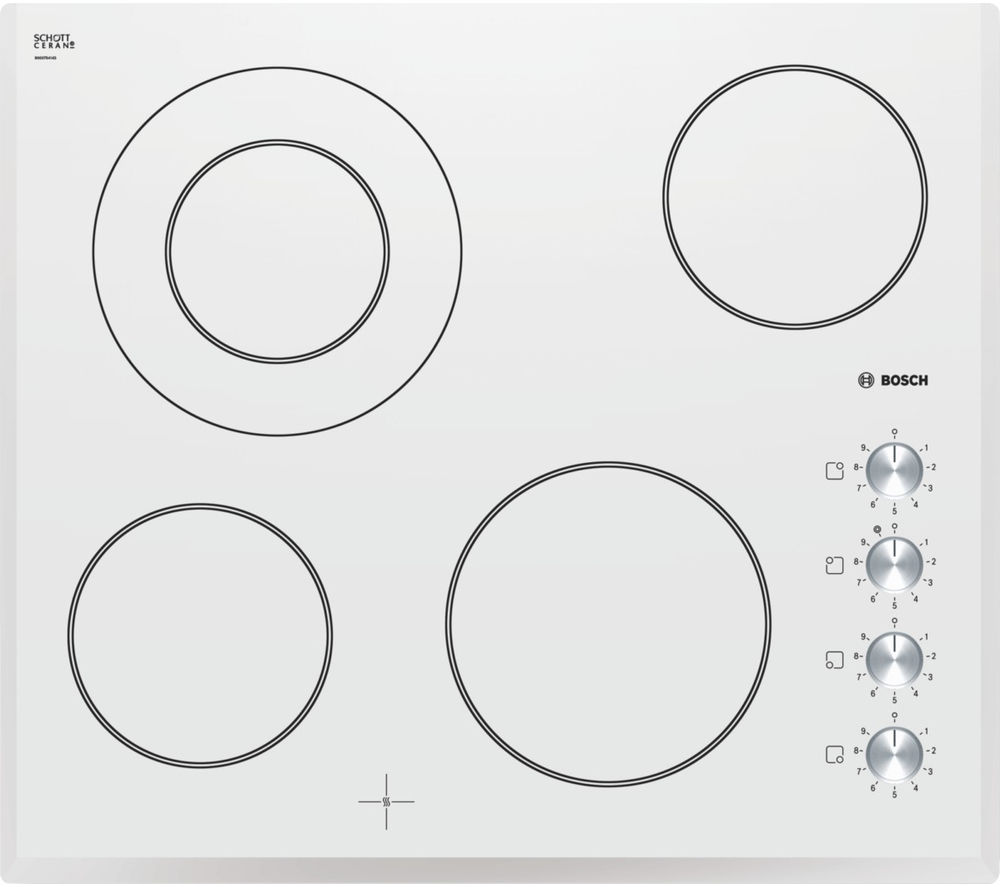 BOSCH  PKF659C17E Electric Ceramic Hob  White White