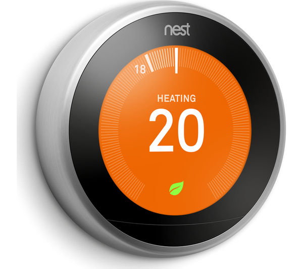 Nest learning thermostat 3rd generation silver deals pc world - Nest learning thermostat ...