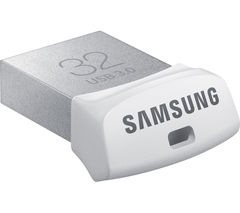 SAMSUNG Fit USB 3.0 Memory Stick - 32 GB, Silver