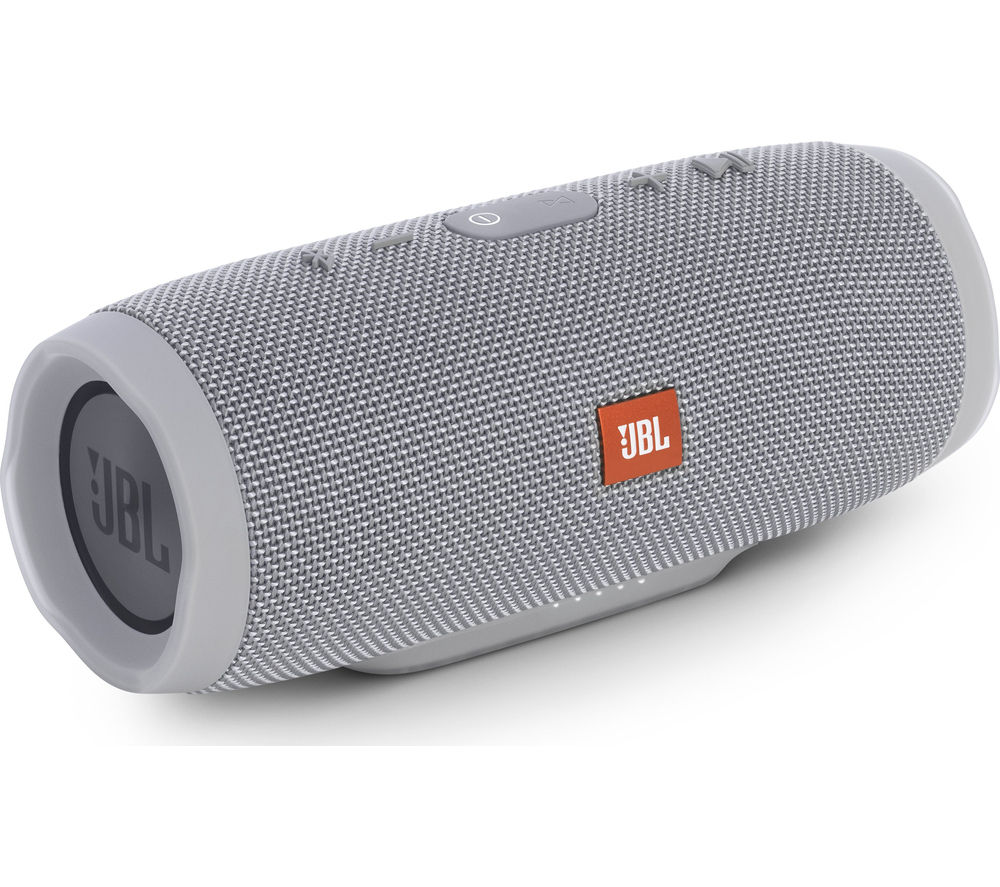 Click to view more of JBL  Charge 3 Portable Wireless Speaker - Grey, Grey