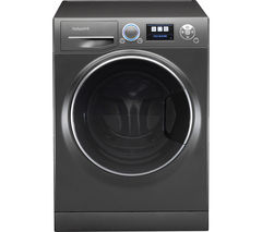 HOTPOINT Ultima S-Line+ RZ1066B Washing Machine - Black