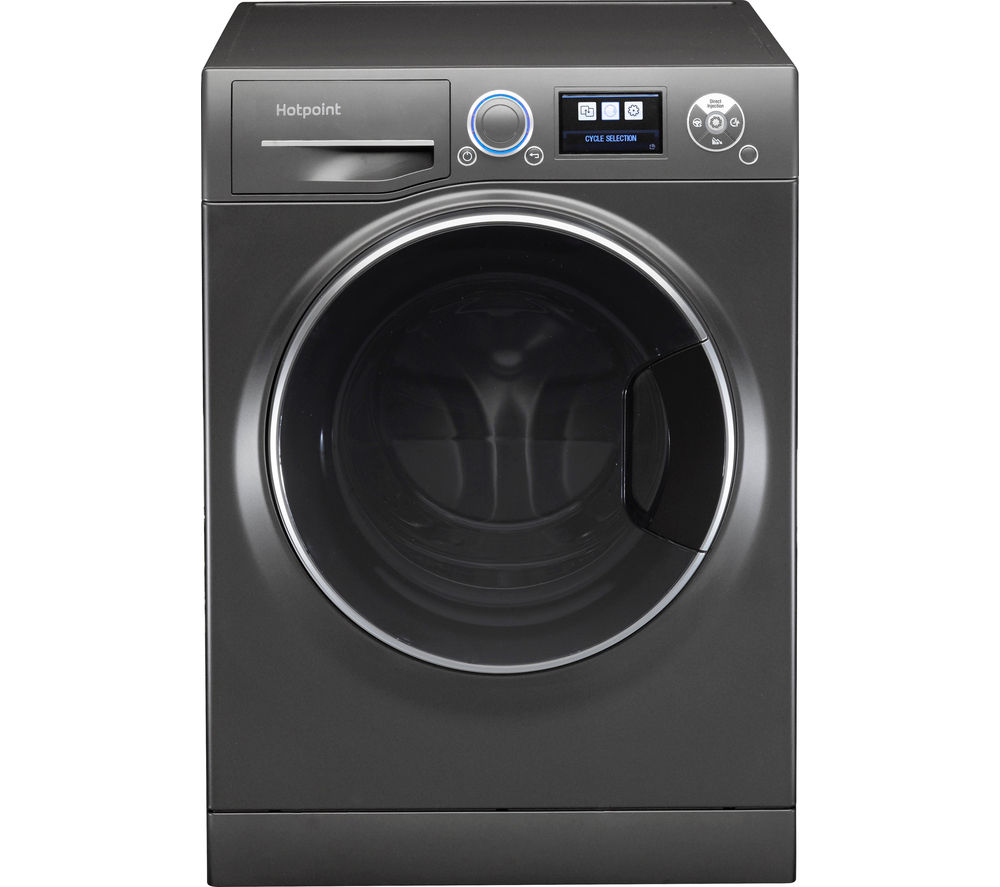 HOTPOINT  Ultima SLine RZ1066B Washing Machine  Black Black