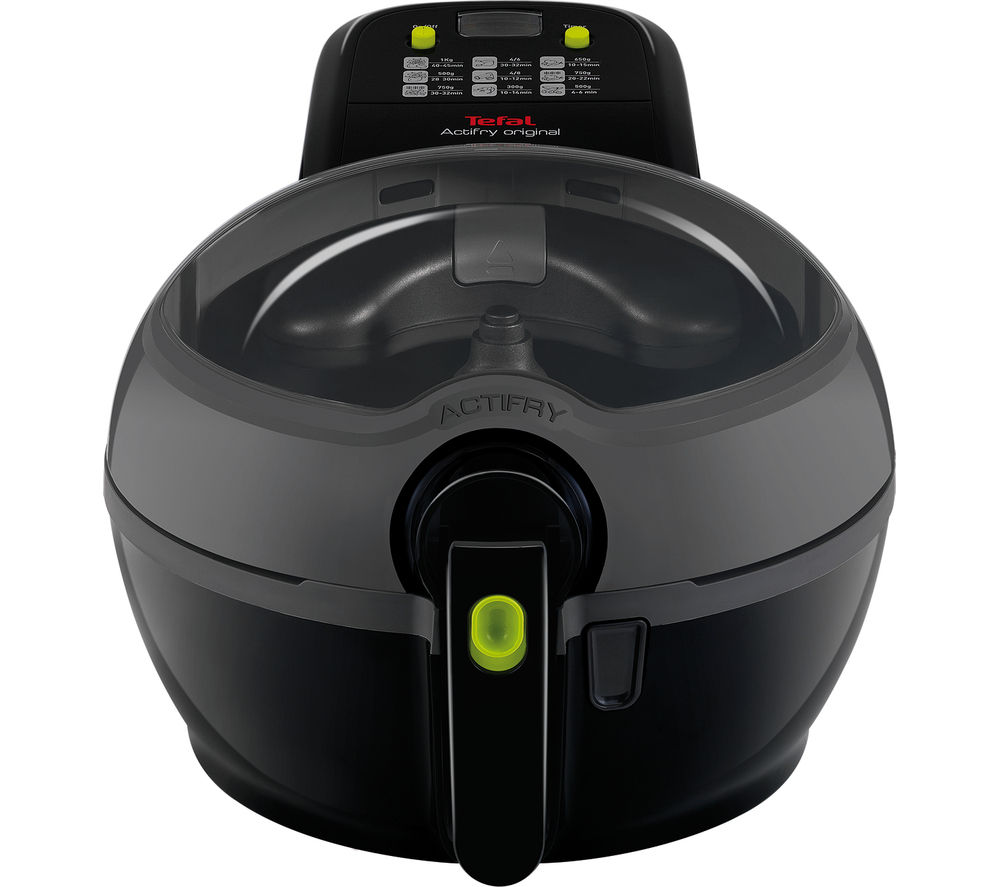 TEFAL GH840040 ActiFry Plus Fryer  Black Black