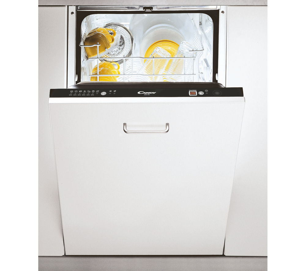 candy cdi4545 e slimline integrated dishwasher review. Black Bedroom Furniture Sets. Home Design Ideas