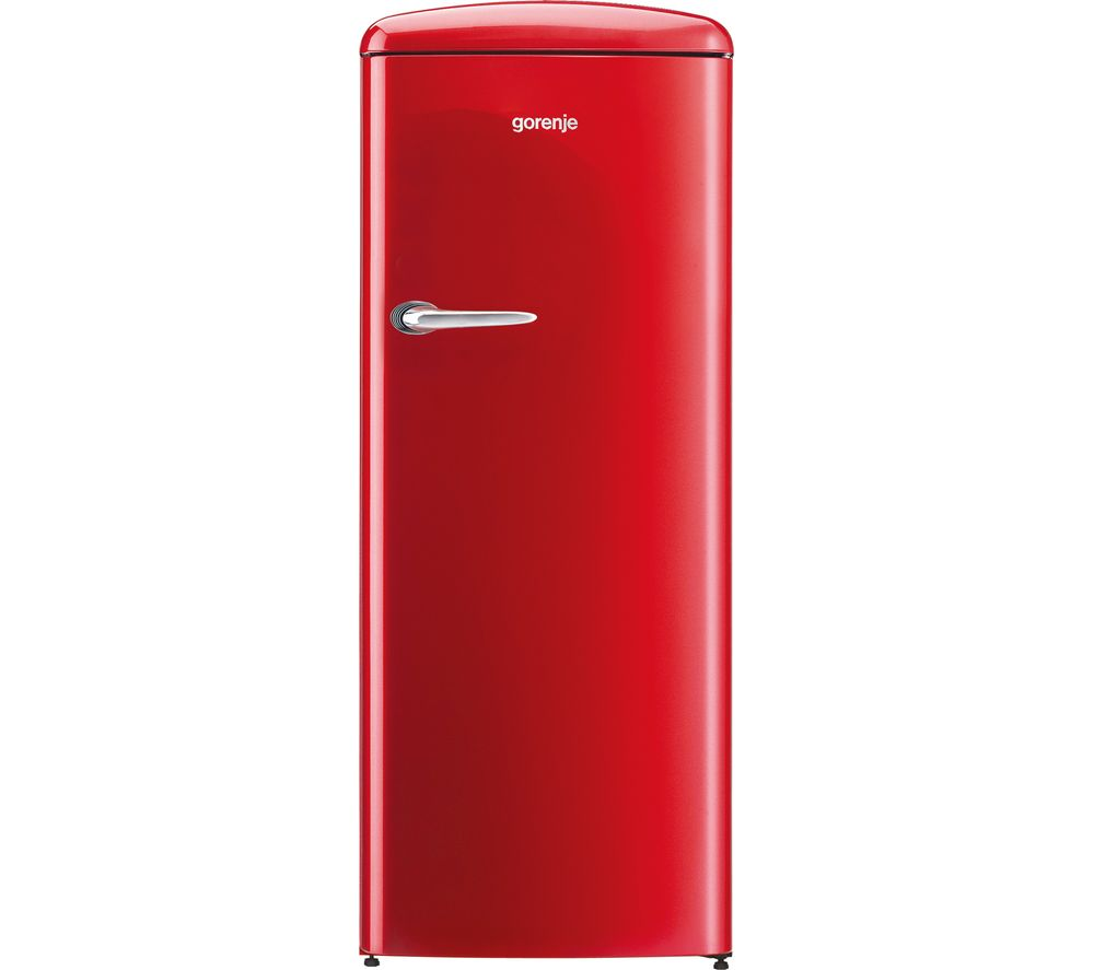 GORENJE  ORB153RD Tall Fridge  Fiery Red Red