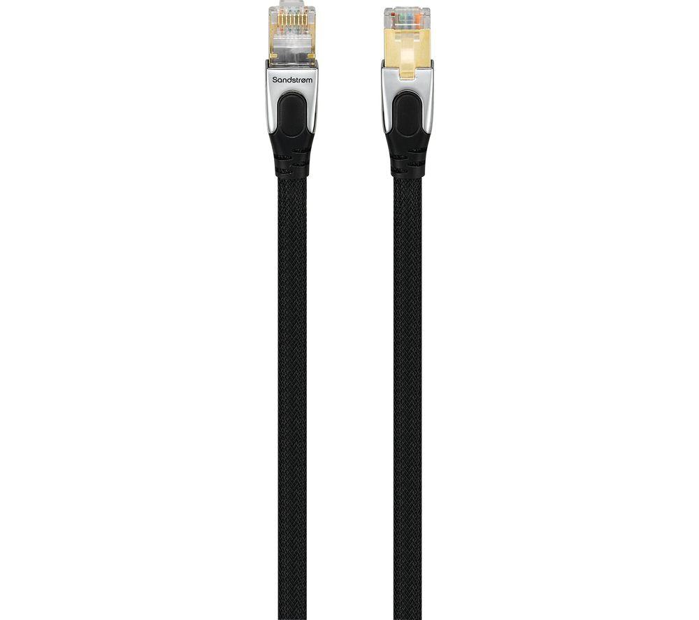 SANDSTROM SCAT61017 CAT6 Gigabit Ethernet Cable - 10 m