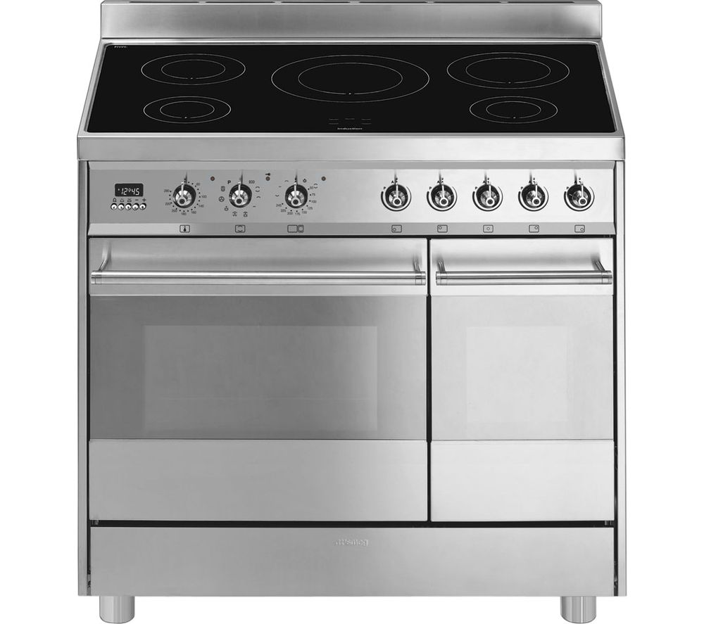 Buy Smeg C92ipx8 90 Cm Electric Induction Range Cooker