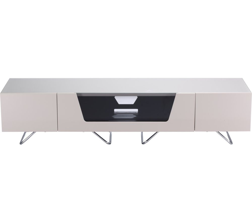 ALPHASON Chromium 2 1600 TV Stand  Ivory Ivory
