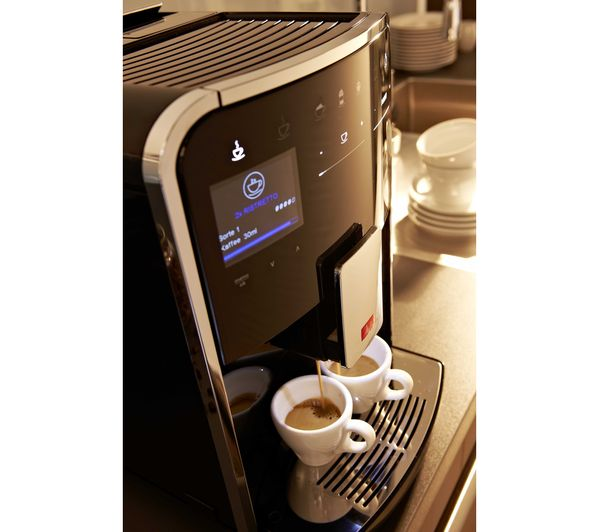 buy melitta caffeo barista ts bean to cup coffee machine black free delivery currys. Black Bedroom Furniture Sets. Home Design Ideas