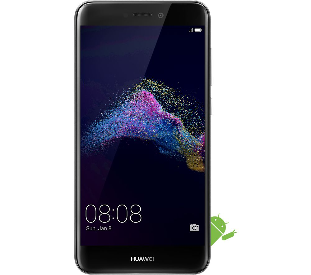 buy huawei p8 lite 2017 16 gb black free delivery currys. Black Bedroom Furniture Sets. Home Design Ideas