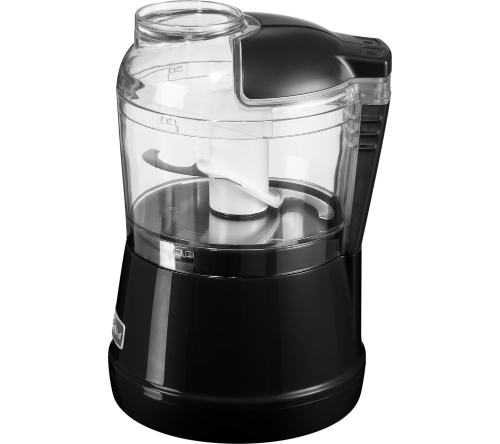 buy kitchenaid 5kfc3515bob mini chopper onyx black free delivery currys. Black Bedroom Furniture Sets. Home Design Ideas