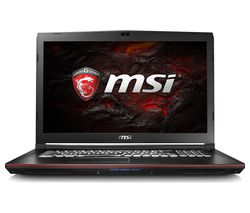 "MSI GP72 7RD 17.3"" Gaming Laptop - Black"