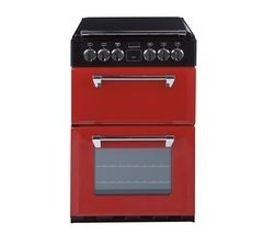 STOVES 550E Mini Range Electric Cooker - Red