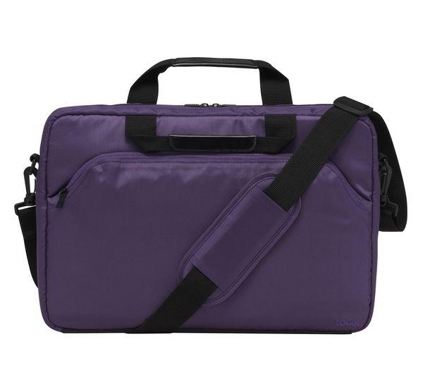 "Image of Logik L15SPP11 15.6"" Laptop Case - Purple, Purple"