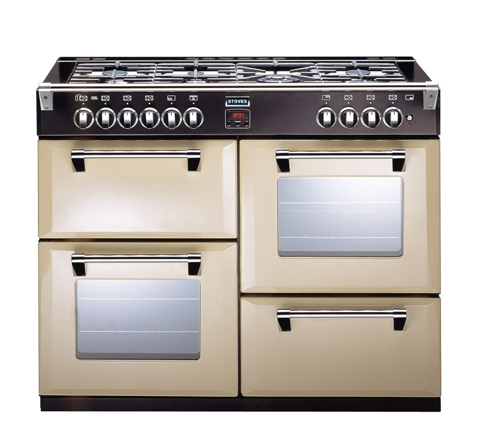 buy stoves richmond 1000gt gas range cooker champagne. Black Bedroom Furniture Sets. Home Design Ideas