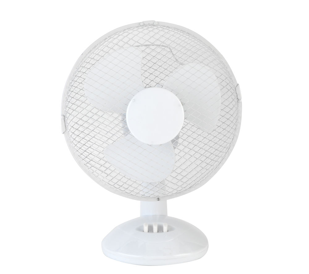 "BELDRAY EH0676 9"" Desk Fan - White"