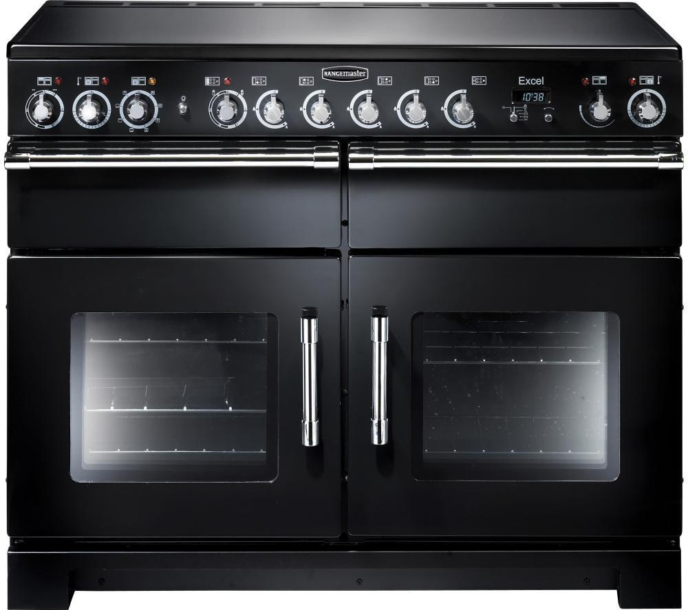 RANGEMASTER Excel 110 Electric Range Cooker - Black