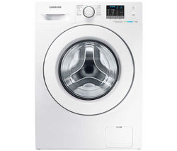 SAMSUNG ecobubble WF70F5E0W2W Washing Machine - White