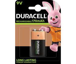 DURACELL HR9V/DC1604 9V Rechargeable NiMH Battery
