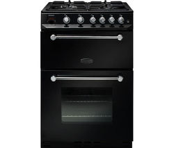 RANGEMASTER Kitchener 60 Gas Cooker - Black