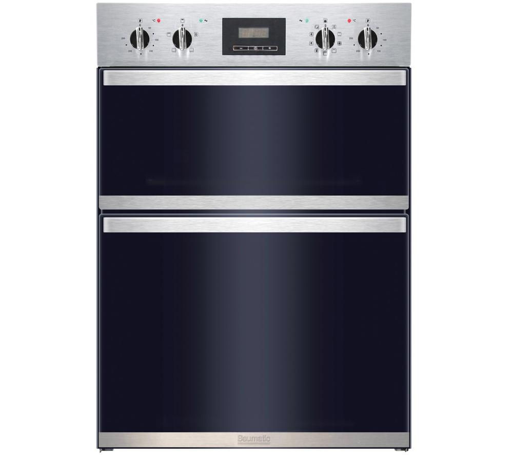 BAUMATIC BOD890SS Electric Double Oven - Stainless Steel