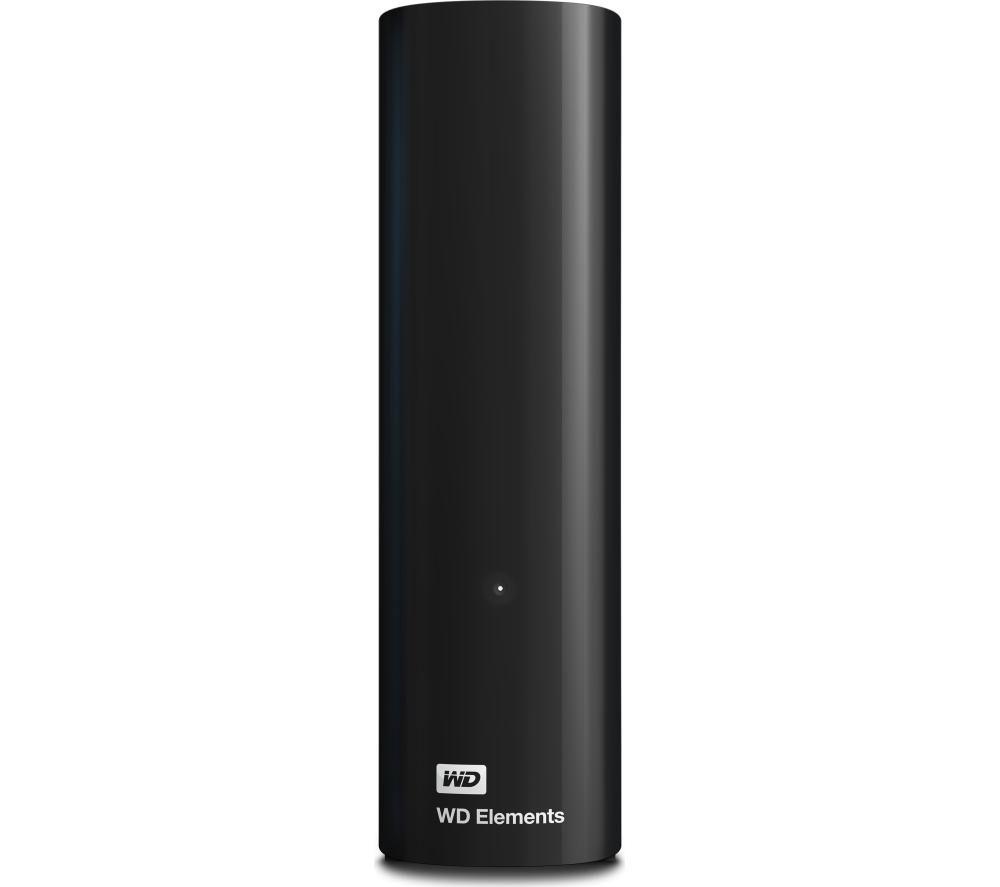 wd elements desktop external hard drive 5 tb black. Black Bedroom Furniture Sets. Home Design Ideas