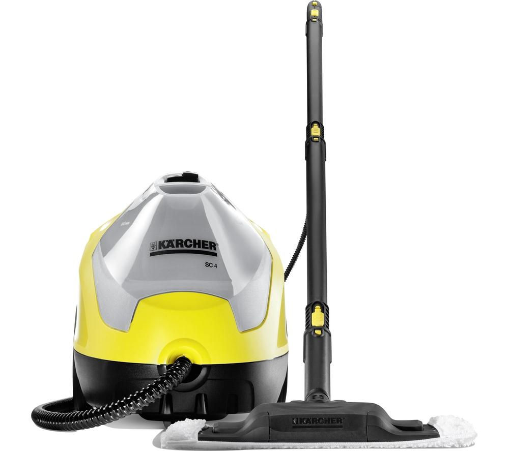 buy karcher sc4 steam cleaner yellow black free