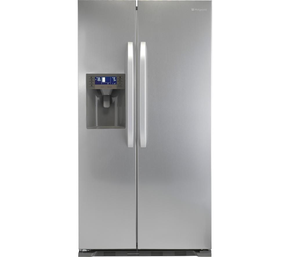 HOTPOINT  SXBD922FWD AmericanStyle Fridge Freezer  Stainless Steel Stainless Steel